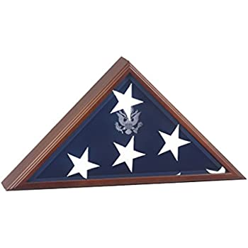Casket Flag Case Hand Made By Veterans Burial Large Flag Display Case