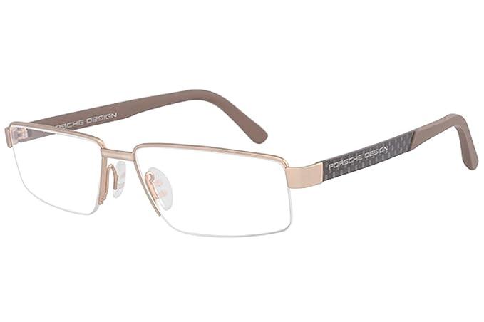 6b78cf4d4a5366 Porsche - Montures de lunettes - Homme Or doré Small  Amazon.fr  Vêtements  et accessoires
