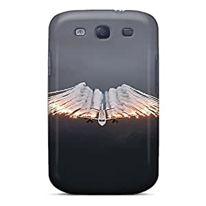Cute Tpu MichelleNCrawford Ac130 Dropping Flares Case Cover For Galaxy S3