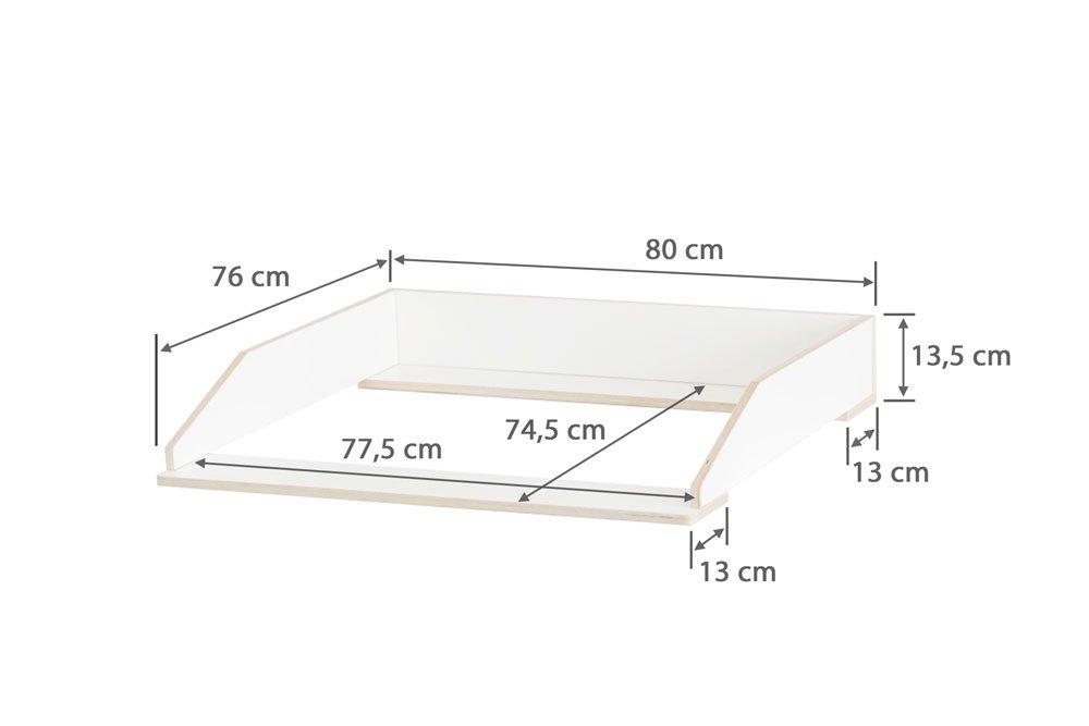 Wickelaufsatz Aufsatz Fur Ikea Malm Kommode Stabiles Holz Keine