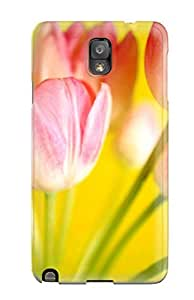 Perfect Fit AvCuuhz8661XcFJN Tulips Flowerss Case For Galaxy - Note 3 by mcsharks