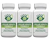 Ocular Health Formula by Eye Love   AREDS 2 Formula, Packed with Lutein, Zeaxanthin, and Astaxanthin   Optometrist Developed for Complete Macula and Retina Support (3-Month Supply)