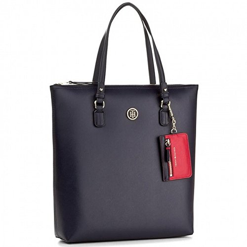 TOMMY NAVY/RED TOTE AW0AW04549 902