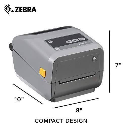 Zebra - ZD420t Thermal Transfer Desktop Printer for Labels and Barcodes - Print Width 4 in - 203 dpi - Interface: USB - ZD42042-T01000EZ by Zebra Technologies (Image #5)