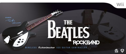 The Beatles: Rock Band Wii Wireless Rickenbacker 325 Guitar Controller