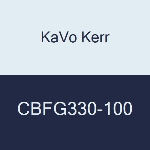 KaVo Kerr CBFG330-100 Operative Solid Carbide Bur, #330 Shape, Fg, Pear, 6mm Head Diameter, 1.6mm Head Length, 19mm Length, 19 millimeters Length (Pack of 100)