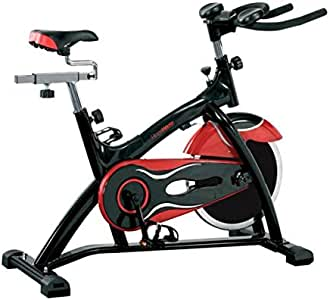 Fitness House Power Pro Bicicleta de Ciclo Indoor, Adultos Unisex, Negro y Rojo, Talla única: Amazon.es: Deportes y aire libre