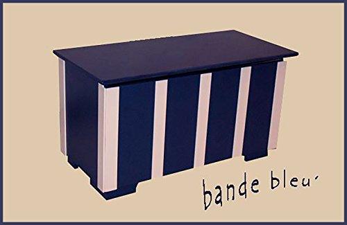 """""""Bande Bleu"""" Children's Toy Chest"""