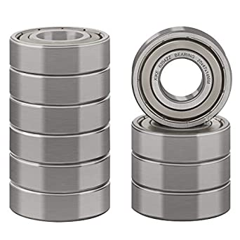 20x 47x 14 mm 4 pcs 6204 2RS double rubber sealed ball bearing