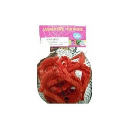 CVS Pharmacy 'Vampire Fangs' Halloween Accessory, Red (Halloween Costumes Cvs Pharmacy)