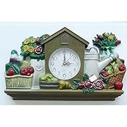 New Haven Gardening Wall Clock