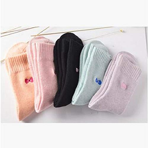 Amazon.com: DeemoShop 2018 Limited Christmas Socks Calcetines Mujer Winter Thickening Warm Socks Cotton Bristles Embroidery Bowknot Towel Women: Kitchen & ...