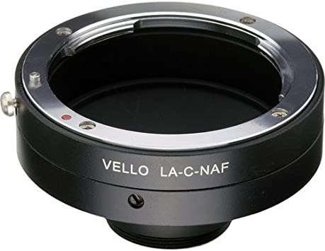 Vello Lens Adapter Compatible with Sony//Minolta A Lens to Nikon F-Mount Camera