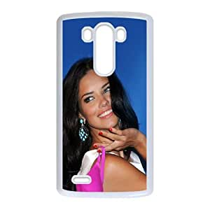 LG G3 Cell Phone Case White Adriana Lima Shiny Sexy Woman H9Z0SJ