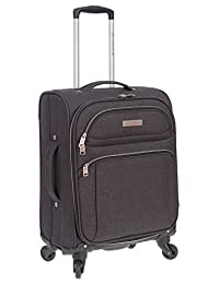 "Air Canada 20"" Carry On Softside Upright Suitcase Charcoal"
