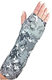 My Recovers Arm Cast Cover Protector, Cast Cover in Digital Camouflage for Short Arm Cast or Wrist Brace, Made in USA, Orthopedic Products Accessories (Medium)