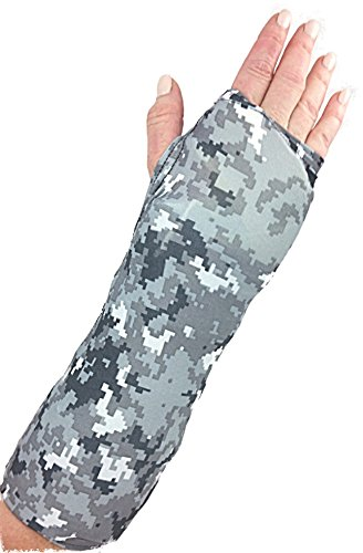 My Recovers Arm Cast Cover Protector, Cast Cover in Digital Camouflage for Short Arm Cast or Wrist Brace, Made in USA, Orthopedic Products Accessories (Small)