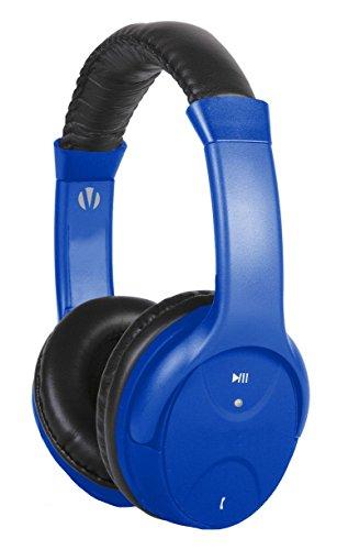 Vivitar V12909-BLU-KM Bluetooth Headphone with Mic...