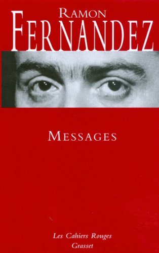 Messages (Les Cahiers Rouges) (French Edition)