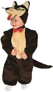Rio - Disfraz de lobo para niño, talla 1 - 2 años (103359/TG00)