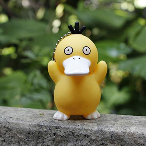 (Pitaya. Single Sale Lovely Puppets Cartoon Cute Psyduck Figure Resin Educational Sets Models Toys for Children -Complete Series Merchandise)