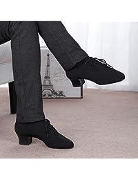 BEESCLOVER Sale Men Latin Dance Shoe Stretch Split Sole Professional Dancesport Shoe Big Size Your Force 6818