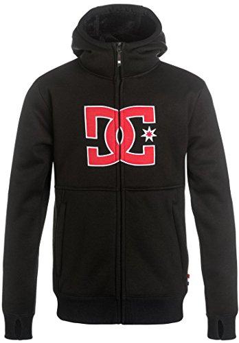 Fleece Dc Sweatshirt (DC Boys' Big Billions Youth Bonded Sweatshirt, Black 14/XL)