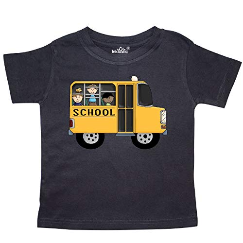 (inktastic - School Bus Toddler T-Shirt 3T Black 5f95 )