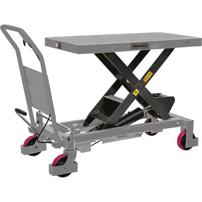 Roughneck Hydraulic Lift Table Cart - 2,200lb. Capacity