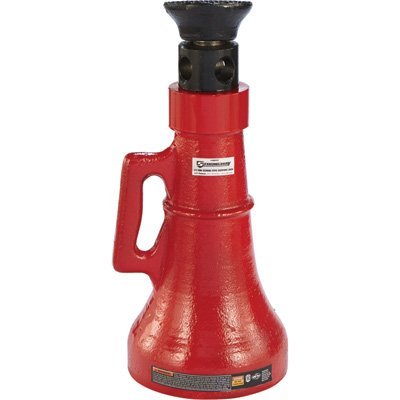 25 Ton Single (Strongway Screw/Support Jack - 25-Ton Capacity, 16 3/4in.-26 1/2in. Lift Range)