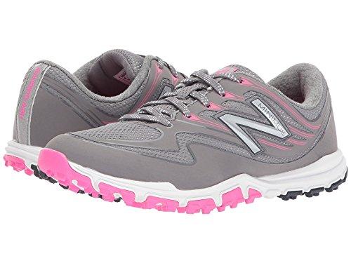 New Balance Women's Minimus Sport Golf Shoe, Pink/Grey, 7.5 M