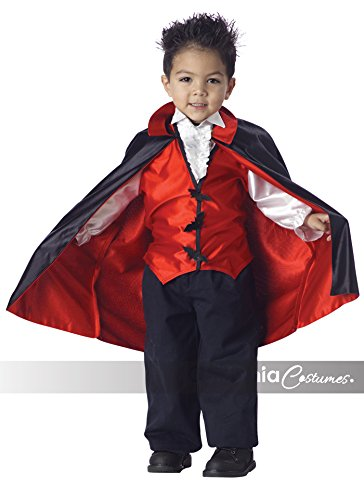 [Vampire Costume: Toddler's Size 2T-4T] (Toddler Vampire Halloween Costumes)