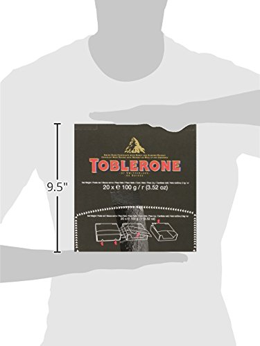Toblerone Chocolate Bar, Dark, 3.52 Ounce (Pack of 20) by Toblerone (Image #7)