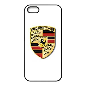 DAZHAHUI Porsche sign fashion cell phone case for iPhone 5S