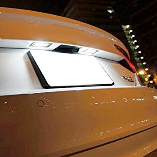 Zesfor Luces de matr/ícula LED para Seat Leon III 2013-2018