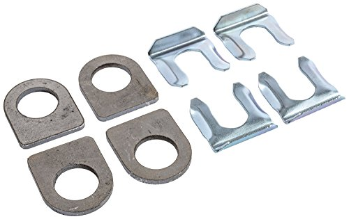 63090 Replacement (JEGS Performance Products 63090 Brake Line Weld Tab & Clip Kit 4/pkg)