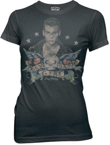 Cry Baby Tattoo Juniors T-Shirt XL