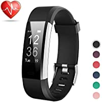 LETSCOM Fitness Tracker HR, Activity Tracker Watch with...