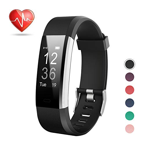Price comparison product image LETSCOM Fitness Tracker HR,  Activity Tracker Watch Heart Rate Monitor,  Waterproof Smart Bracelet Step Counter,  Calorie Counter,  Pedometer Watch Kids Women Men,  Android & iOS