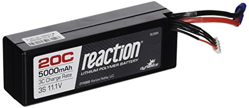 Dynamite EC3 Reaction 11.1V 5000mAh 3S 20C LiPo Hard Case