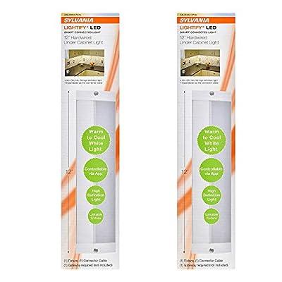 "Sylvania 12"" Convertible Alexa-Enabled Under Cabinet Light (Needs Hub) | 71148 (2 Pack)"