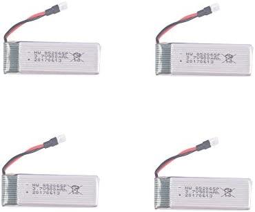 YouCute 4PCS 900mah actualización Batería para JJRC H37 EACHINE ...