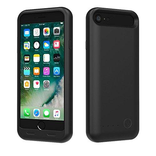 TAMO EDGE 3100 mAh Dual-Purpose Ultra-Slim Protective Extended Battery iPhone 7 Case, Matte Black (Premium Retail Packaging) by TAMO (Image #5)