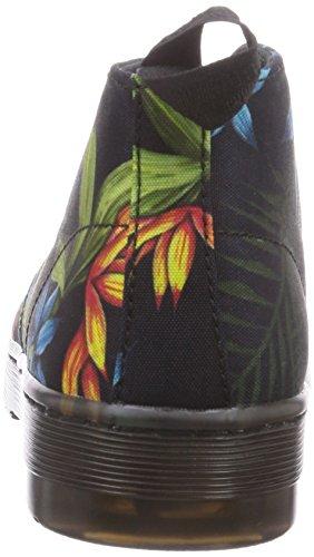 Dr. Dr. Martens Daytona Canvas Black Hawaiian - Botas De Lona Para Mujer, Color Negro, Talla 37 Martres Daytona Toile Noire Hawaïennes - Bottes De Toile De Femmes, Couleur Noire, Taille 37