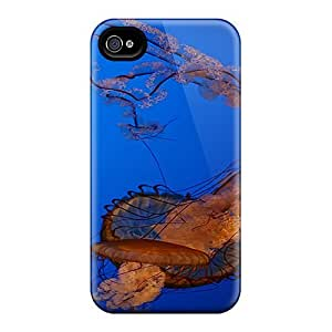 Defender Case With Nice Appearance (lt Jellyfish) For Iphone 4/4s