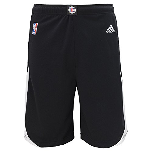 NBA Los Angeles Clippers Youth Boys 8-20 Replica Alternate Shorts, Large (14/16), Black