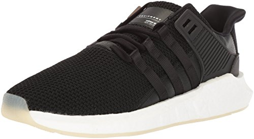 adidas Originals Men's EQT Support 93/17 Running Shoe, core Black/White, 13 M US