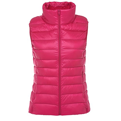 Slim Winter rose Down Jacket And Vest Section Was Red Autumn Stand Thin Female Short Xuanku Can Vest Sleeveless Thin Collar Accommodate 4qxEwXpH