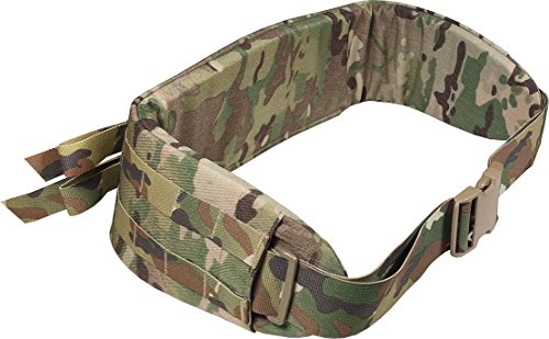 Fire Force A.L.I.C.E. Pack Enhanced Padded Belt, FILBE Frame Belt, Kidney Belt Made in USA (Multicam)