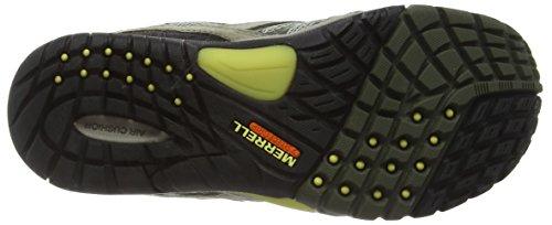 Merrell Azura Wtpf - Zapatos de Low Rise Senderismo Mujer Marrón (Granite)